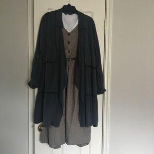 🍂Fall Season🍂 Knox Rose Oversized Gray Jacket
